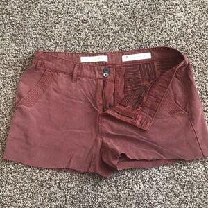 Cutoff shorts